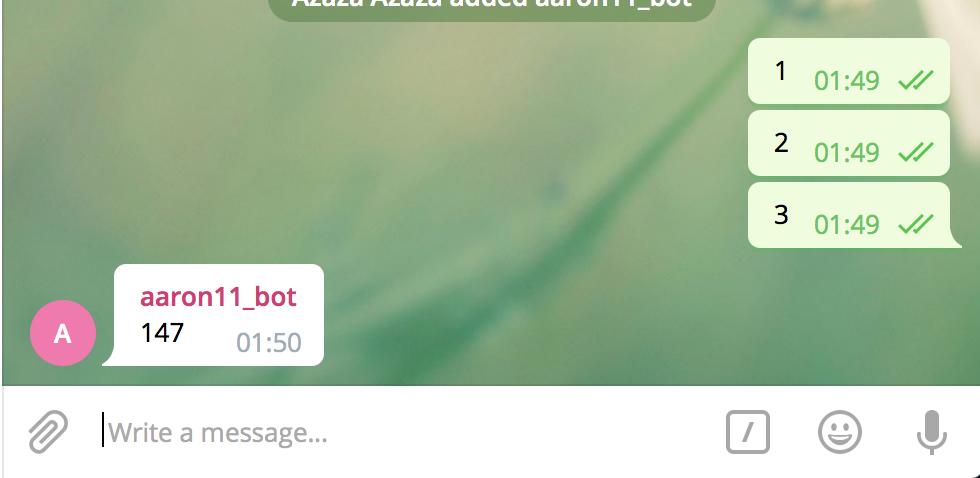 Удалить Телеграм сообщения