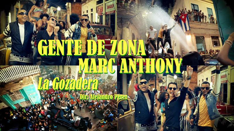 Gente de Zona y Marc Anthony - ¨La Gozadera¨ - Videoclip - Dirección: Alejandro Pérez. Portal del Vídeo Clip Cubano