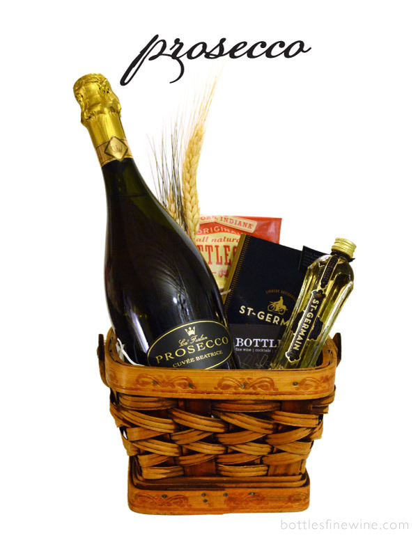 Prosecco Sparkling Wine Gift Baskets