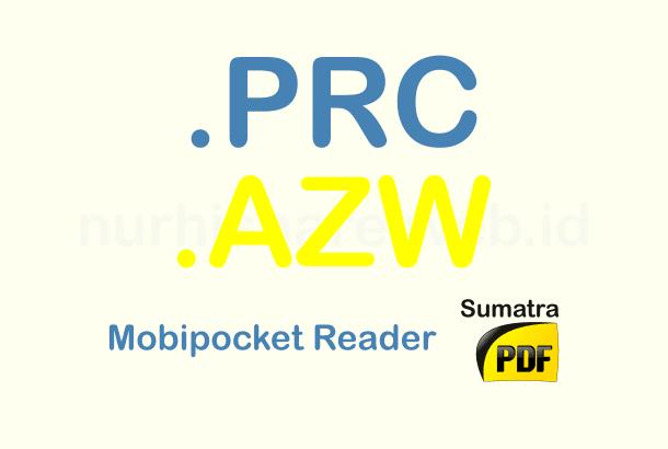 AZW dan PRC opener reader