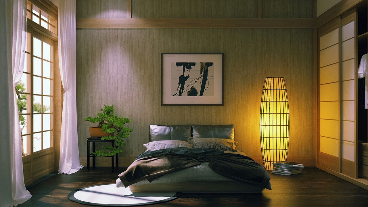 japanese home décor that you could use to create asian style home