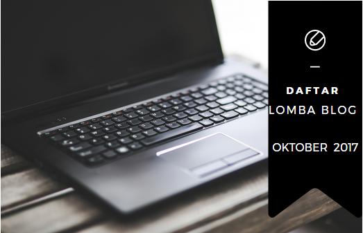 Daftar Lomba Blog 2017