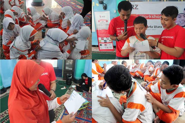 foto kegiatan relawan rumah zakat
