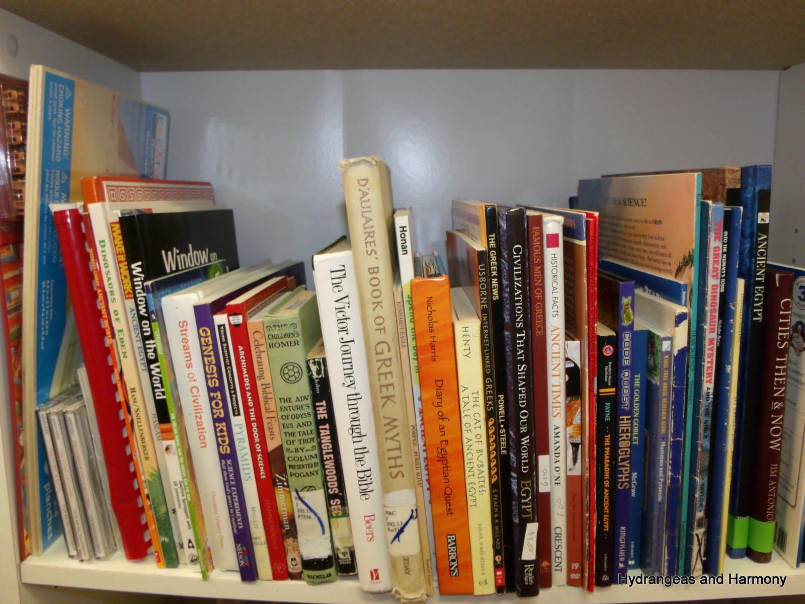 Hydrangeas And Harmony Homeschool Curriculum