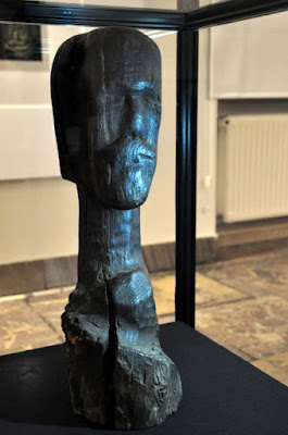 Głowa z Jankowa - rzeźba kultowa