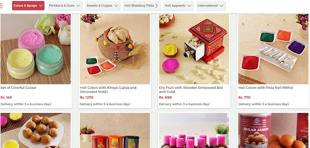 Gifting Made Easy With IGP.com for Holi