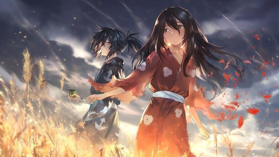 Hyakkimaru, Mio, Dororo, 4K, #8 Wallpaper