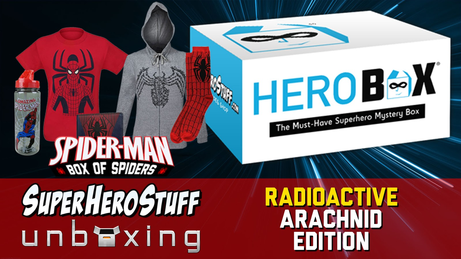 HeroBox Unboxing SuperHeroStuff