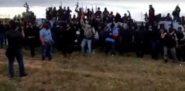 VIDEO; Con este poderío de armas y sicarios nuevo grupo armado amenaza al CJNG