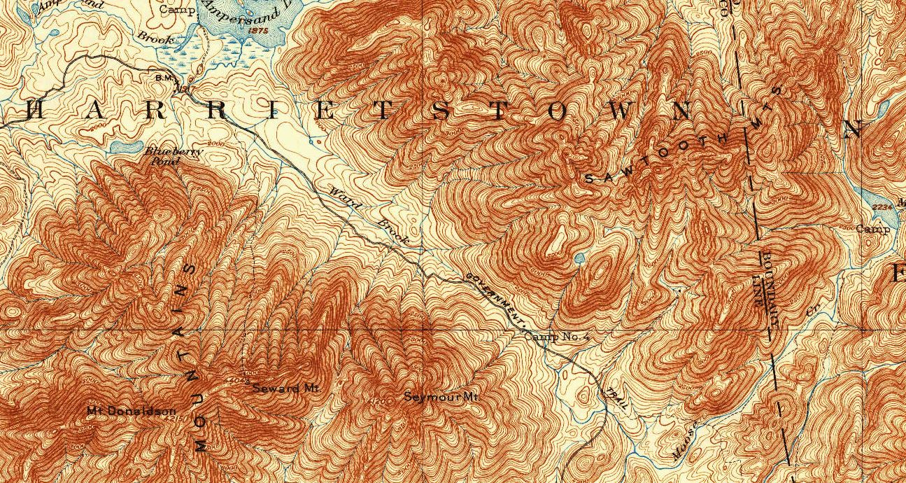 the 1930 edition of the 1 62500 usgs topographic map of the area camp no 4 is a little right of and below the center of the image