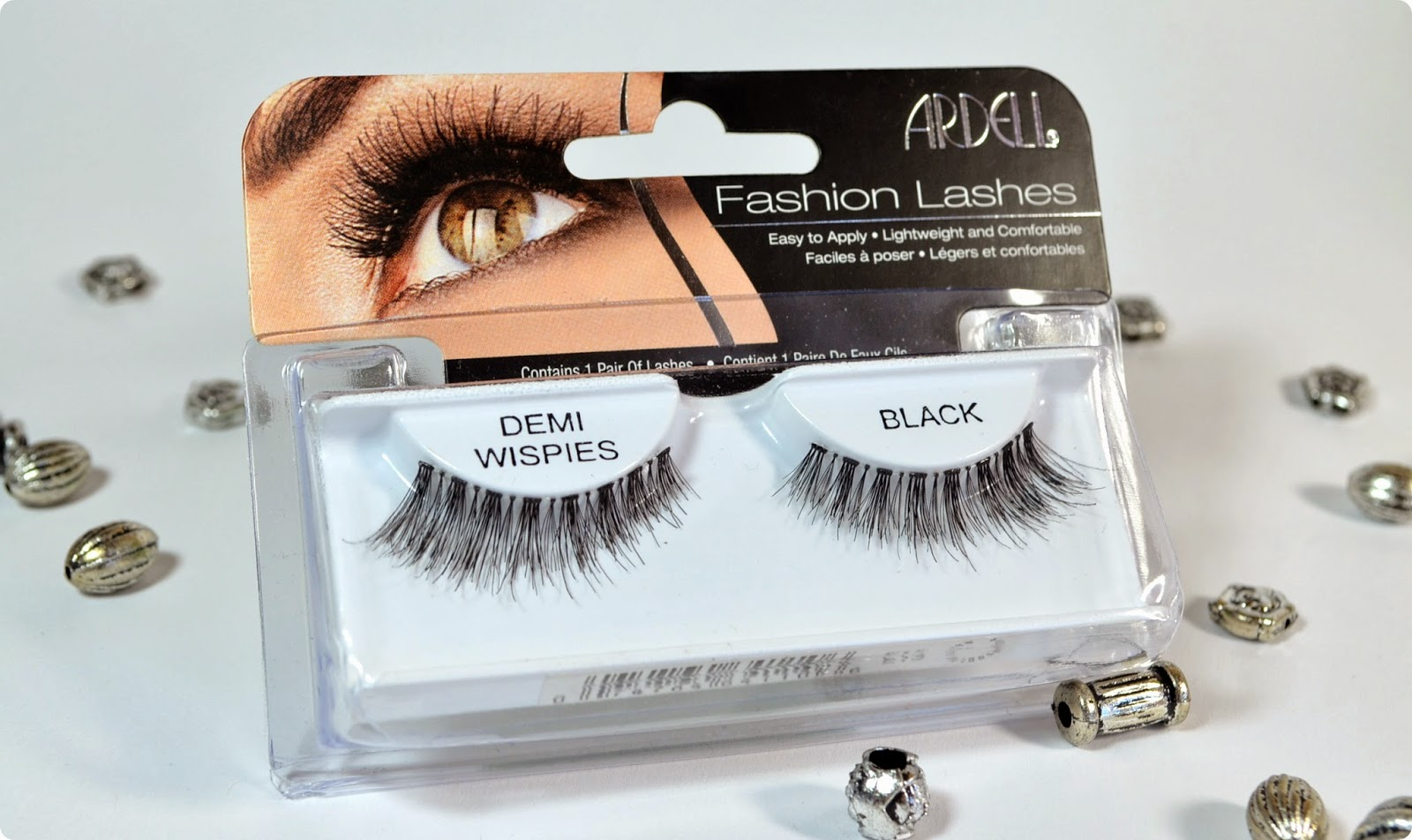 Review Ardell Invisibands demi wispies BLACK