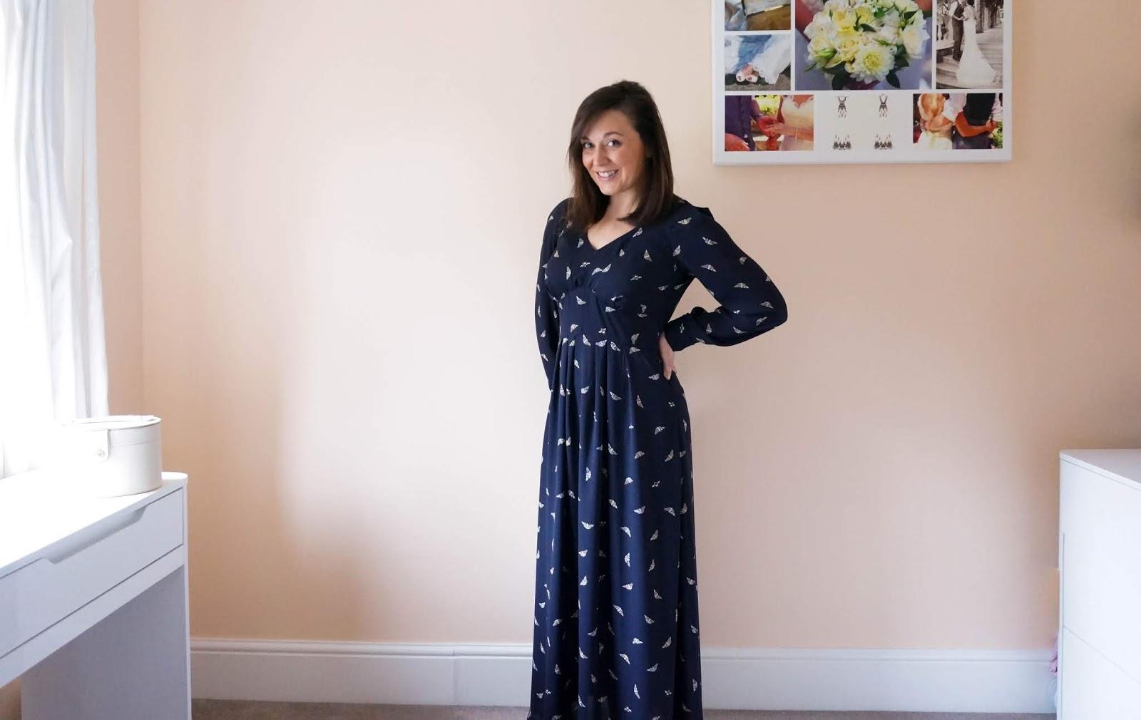 By Hand London Alix Maxi Dress