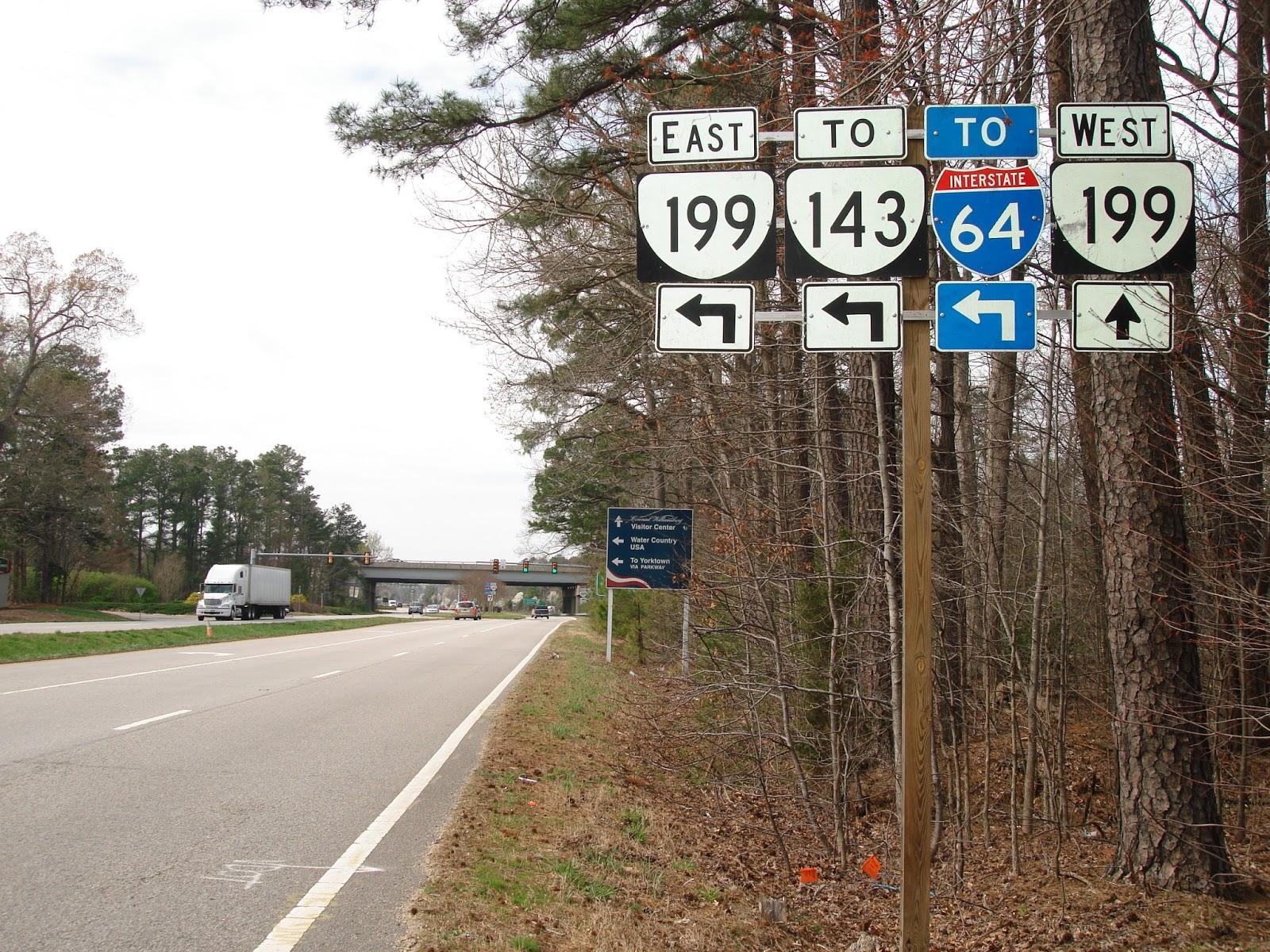 Luke\'s Signs: Route 60 & Route 199 - Williamsburg, VA (near Busch ...