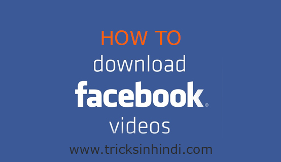 How to download facebook video from mobile.