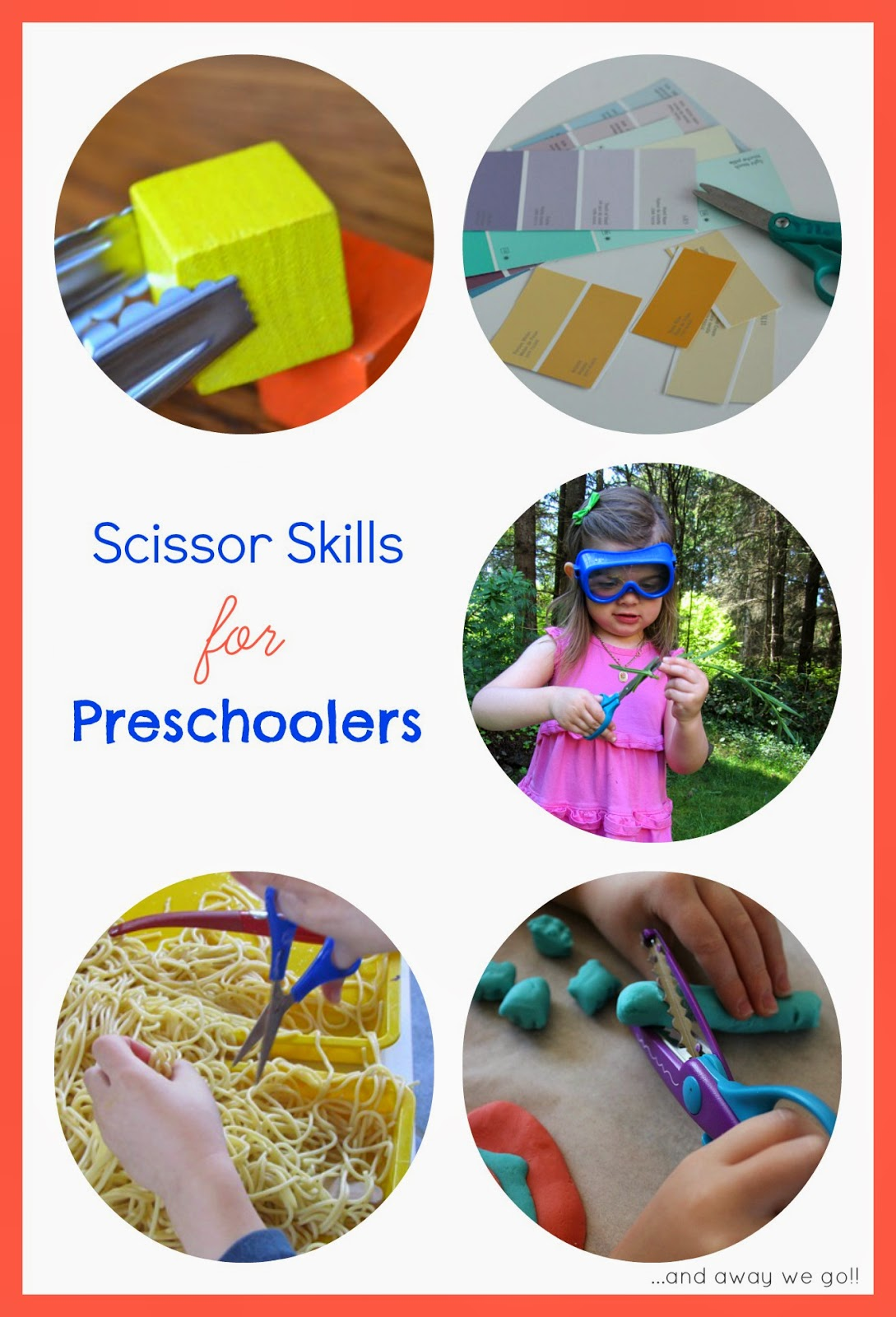 And Away We Go Scissor Skills For Preschoolers