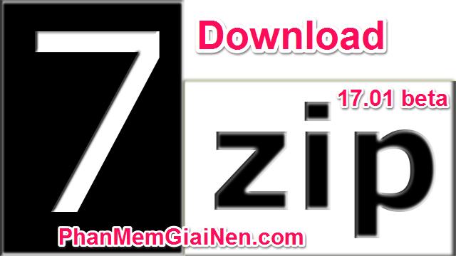Download 7-Zip 17 01 beta (28/08/2017) for Windows