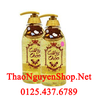 Sữa tắm Cathy Choo Gold 24k 750ml - Hàng tiêu dùng Thái HCM