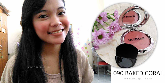 Review ULTIMA II Delicate Blush - 090 Baked Coral