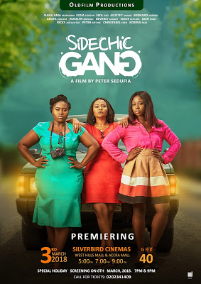 Sidechic Gang Movie Premieres On March 3 At Silverbird Cinemas