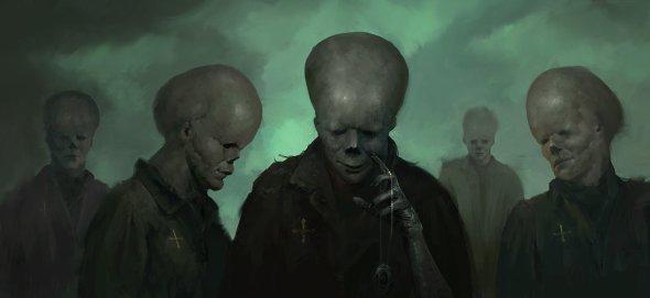Emilis Emka artstation arte ilustrações fantasia terror sombrio lovecraft