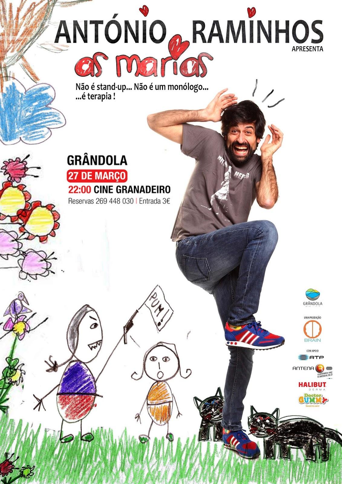 António Raminhos Apresenta As Marias (2016)