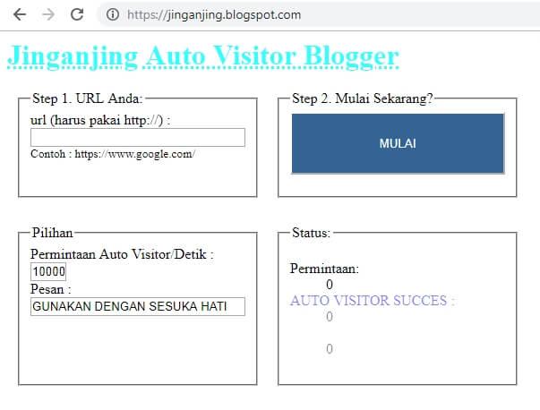 auto visitor blogger