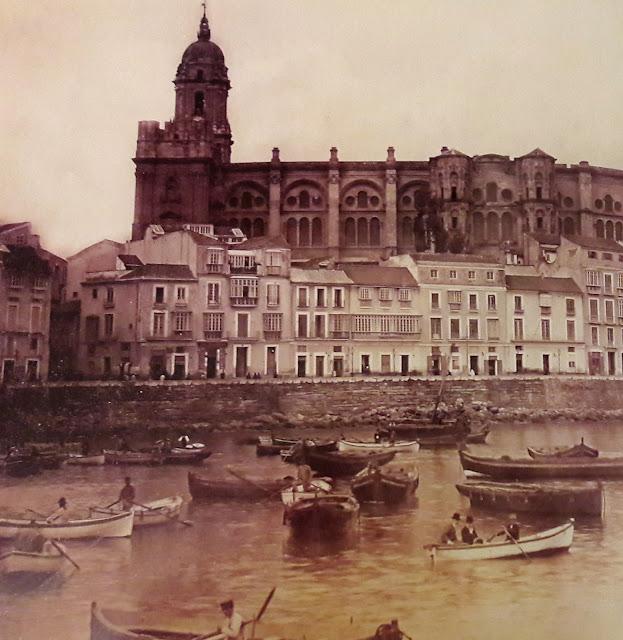 Malaga Catahedral 1880