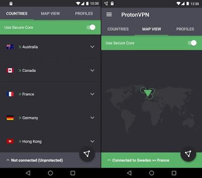 تطبيق ProtonVPN مدفوع للأندرويد اسرع vpn مدفوع, vpn مهكر للاندرويد, تحميل برنامج vpn مدفوع, افضل vpn مدفوع, برنامج vpn للاندرويد مهكره 2019, افضل برنامج vpn للاندرويد 2019