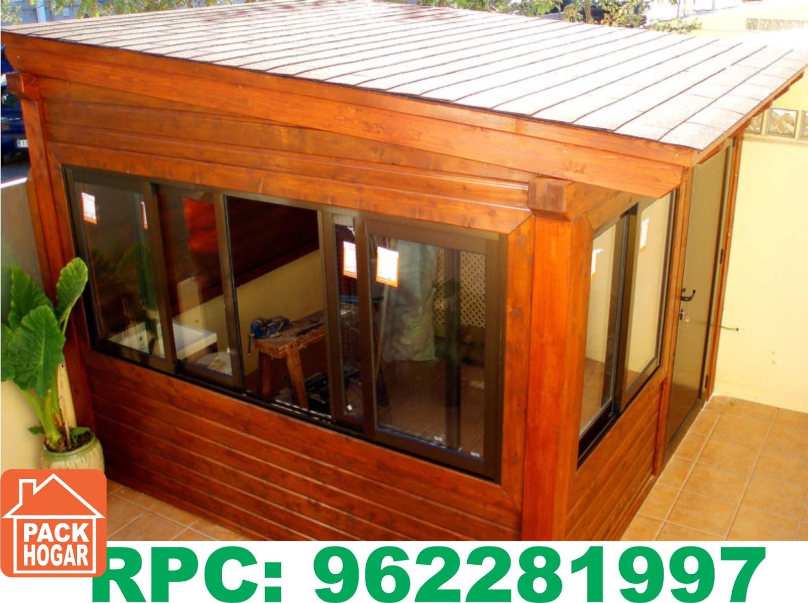 Casetas cuartos prefabricadas para azoteas packhogar - Habitacion de madera ...