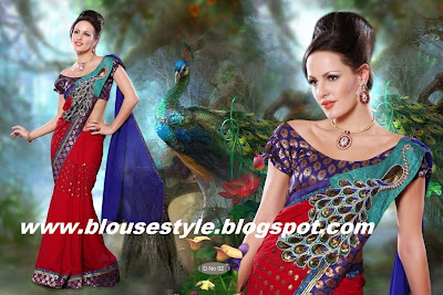 latest new fashion sari