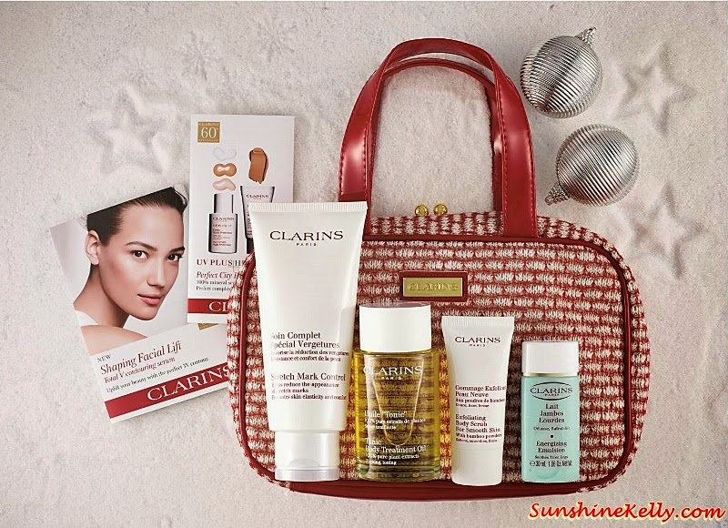 Clarins Body Must-Haves Set, Clarins Christmas set, Clarins gift set, Clarins, Clarins malaysia, Gift Sets, Christmas Gift,