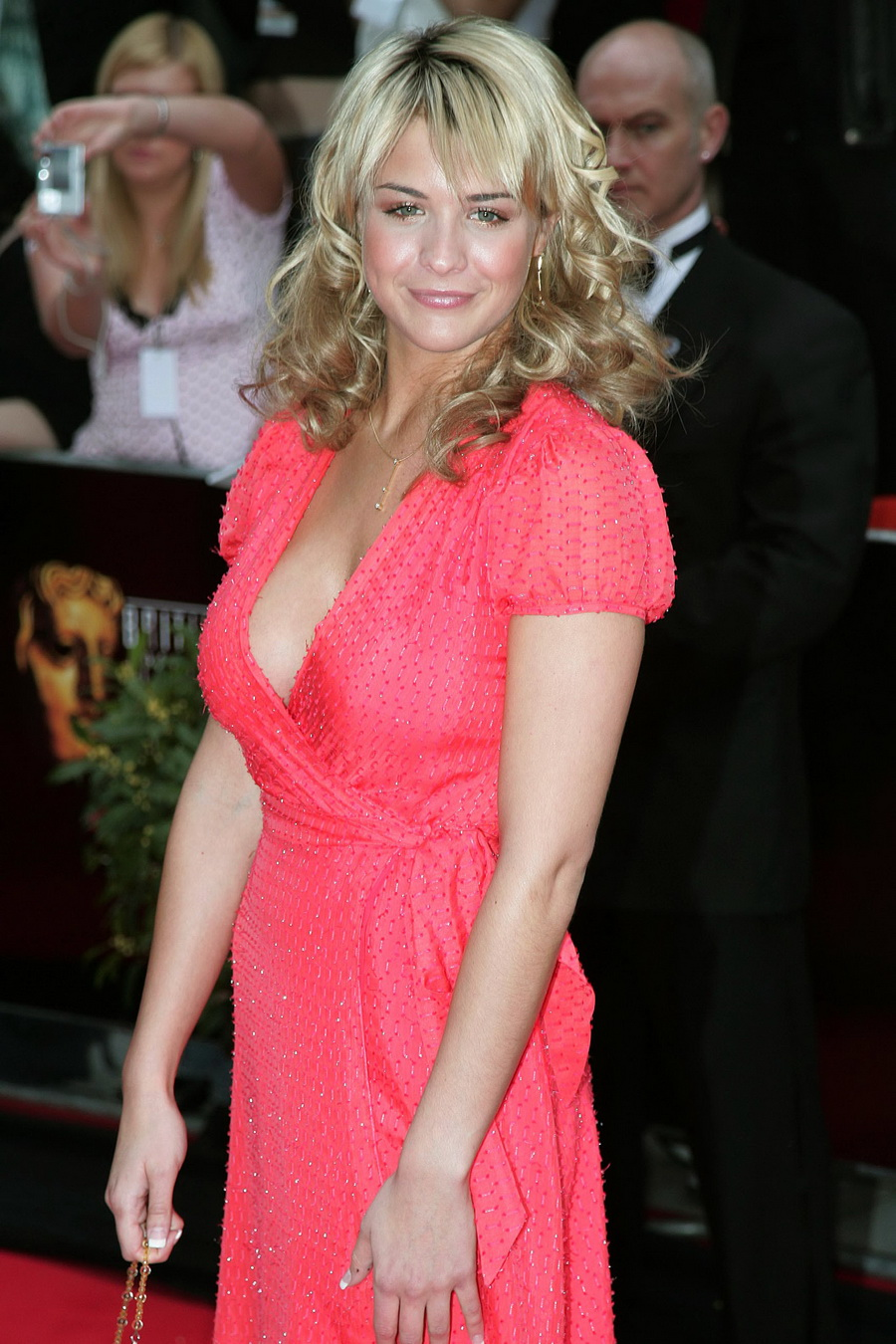 Gemma Atkinson Hot Cleavage Sexy HQ Photos at In Bafta 2006