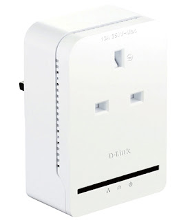 D-Link DHP-P308AV Powerline AV+ Passthrough Adapter