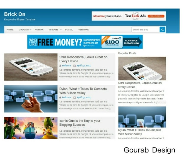 Brickon-Responsive Blogger Template Patch Here