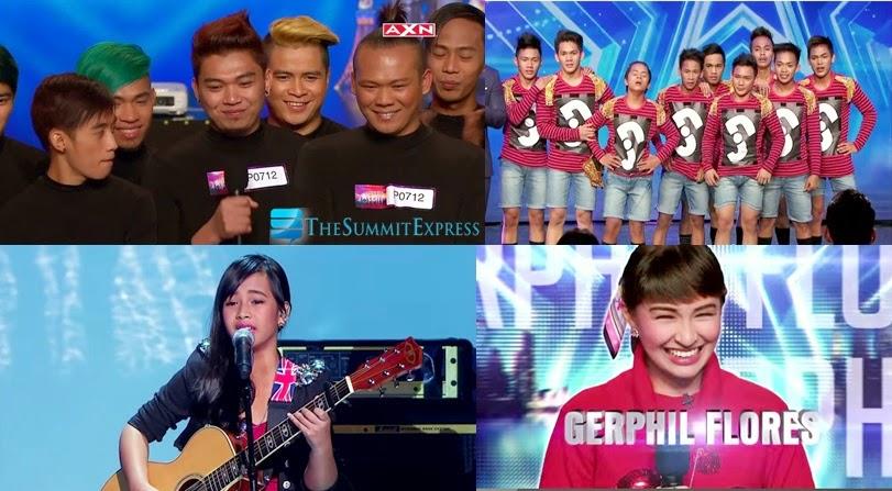 Filipino finalist in Asia's Got Talent: El Gamma Penumbra, Junior New System, Gwyneth Dorado and Gerphil Flores