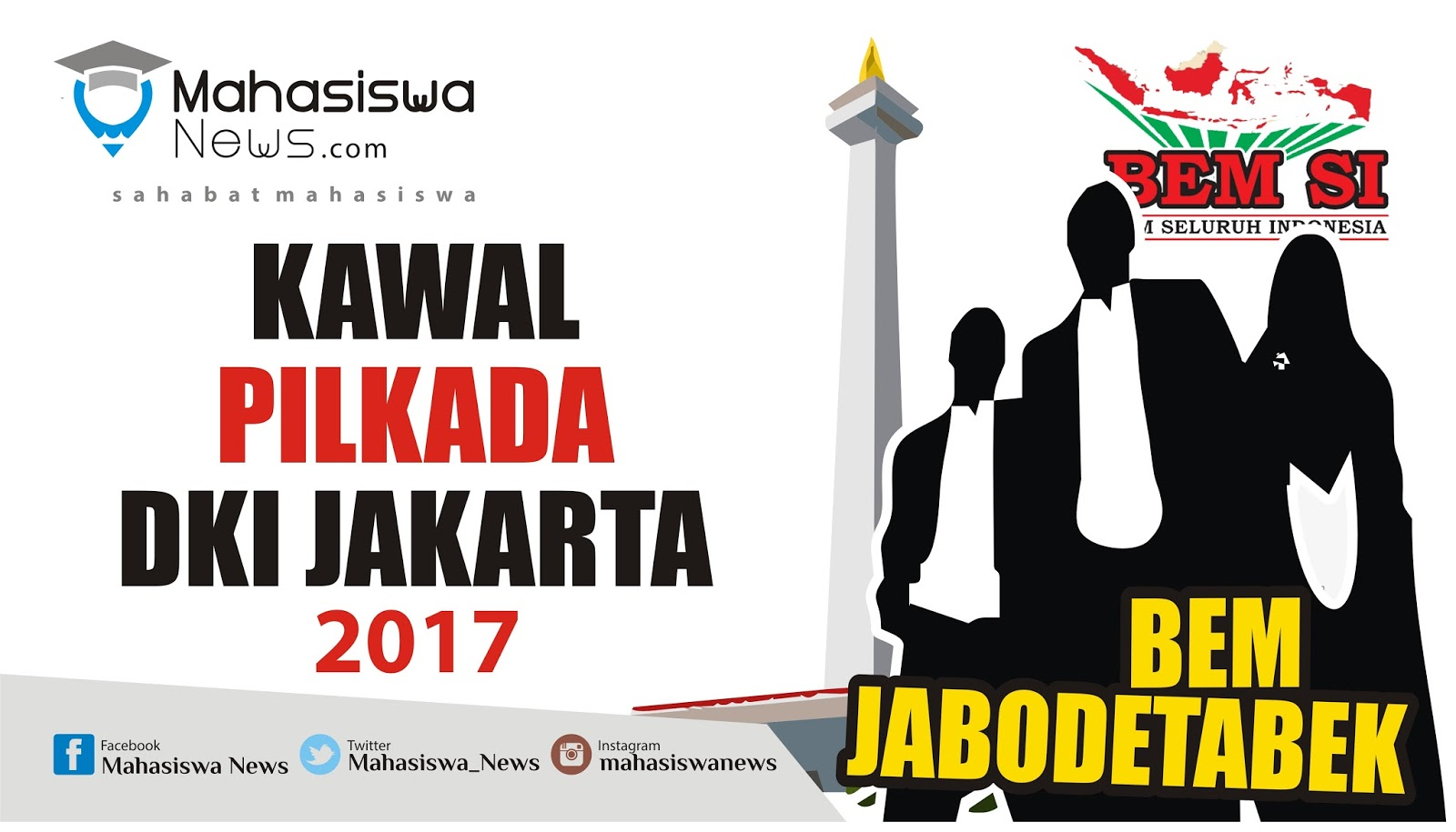 BEM Jabodetabek STOP Kecurangan PILKADA DKI Jakarta Mahasiswa