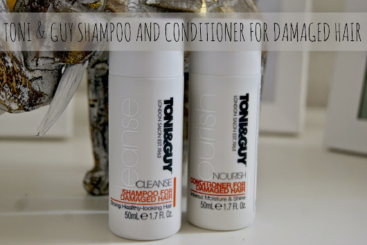 Toni & Guy | Shampoo and Conditioner for Damaged Hair