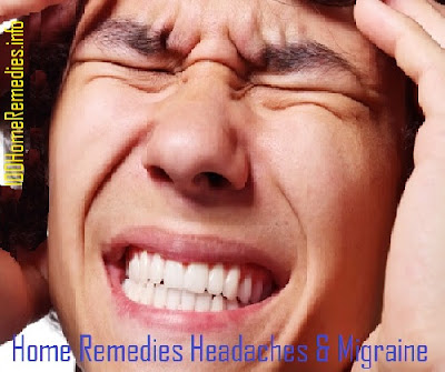 Home remedies for headaches and migraines
