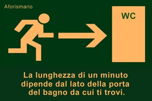 Conosciuto Aforismario®: Gabinetto - Frasi e battute divertenti sul WC ES94