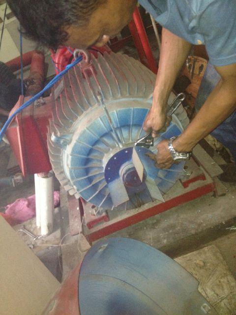 Maintenanc Mesin Pompa Hydrant System