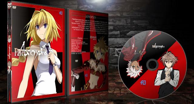 Fate Apocrypha Ver.2 | Cover DVD | MEGA |