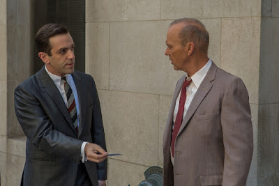 Michael Keaton and B.J. Novak in The Founder (3)