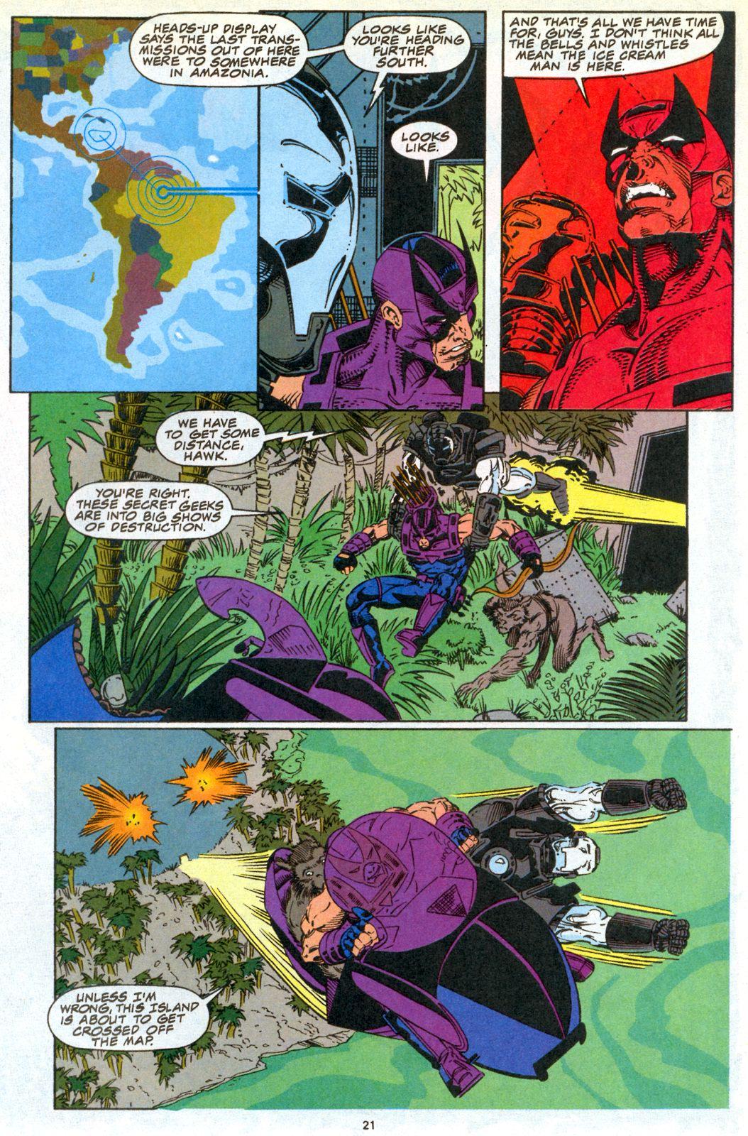 Hawkeye (1994) Issue #3 #3 - English 17