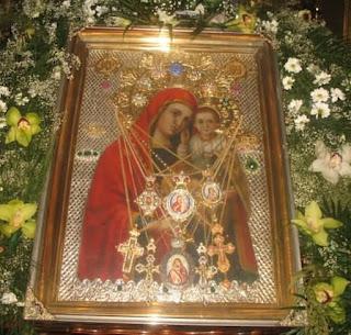 Η θαυματουργή εικόνα της Παναγίας του Μποϊαν