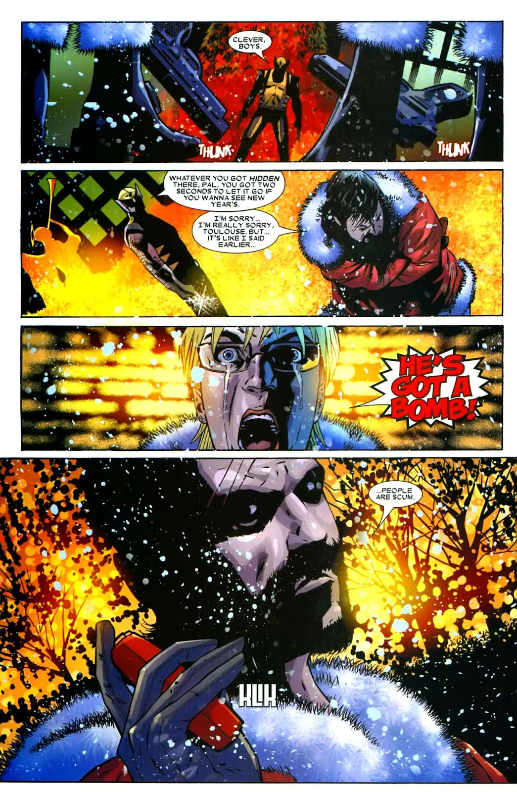 Read online Wolverine (2003) comic -  Issue #49 - 32