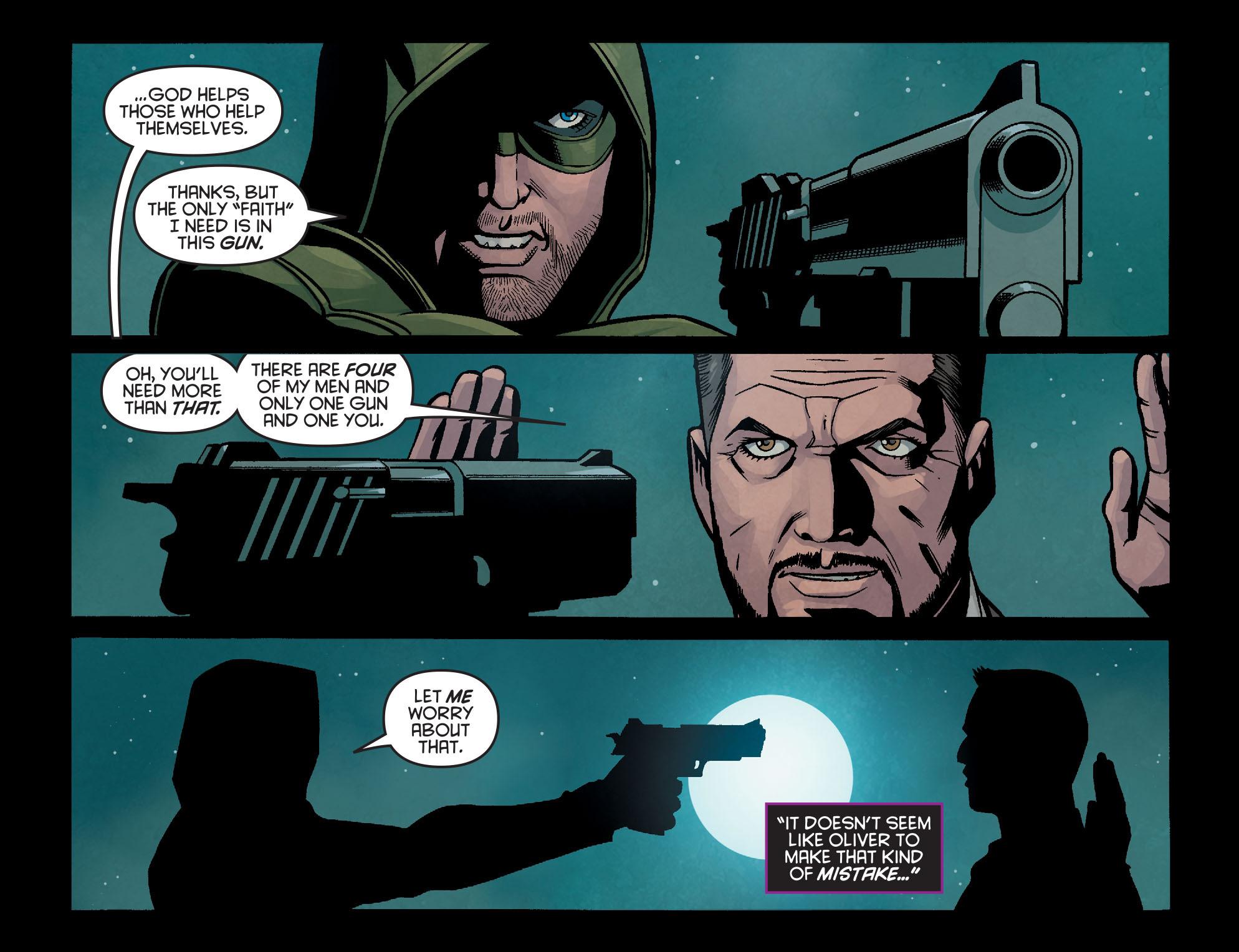 Read online Arrow: Season 2.5 [I] comic -  Issue #14 - 16