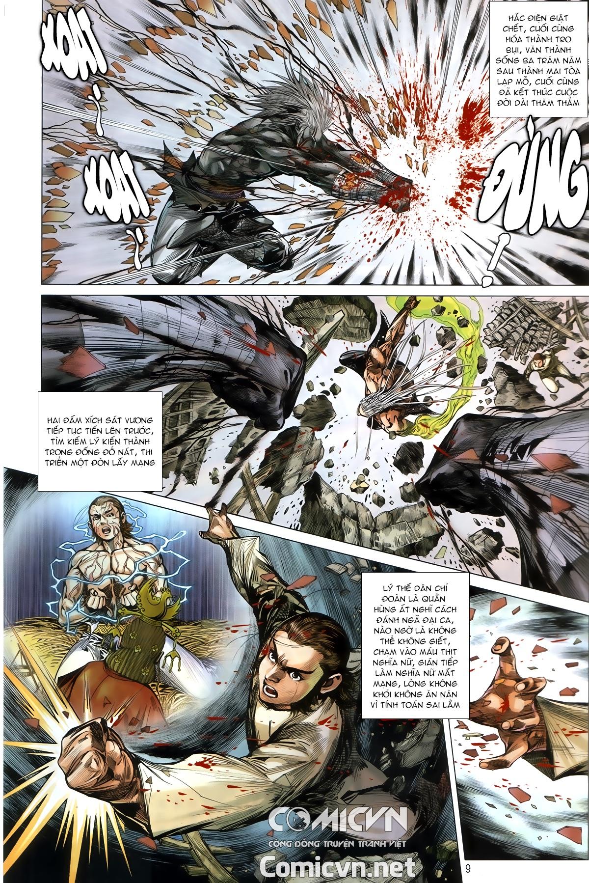 Thiết Tướng Tung Hoành chap 245 - Trang 8