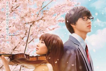 Sinopsis Your Lie in April / Shigatsu wa Kimi no Uso (2016) - Japanese Movie