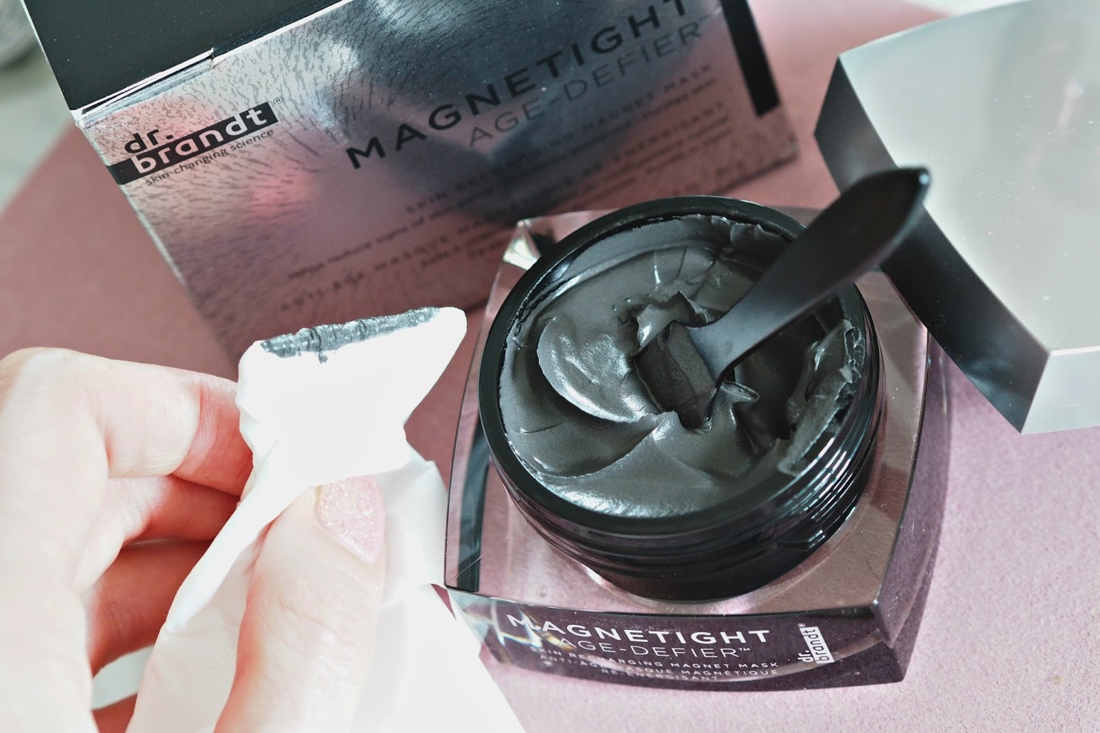 Dr Brandt Magnetight magnet face mask review