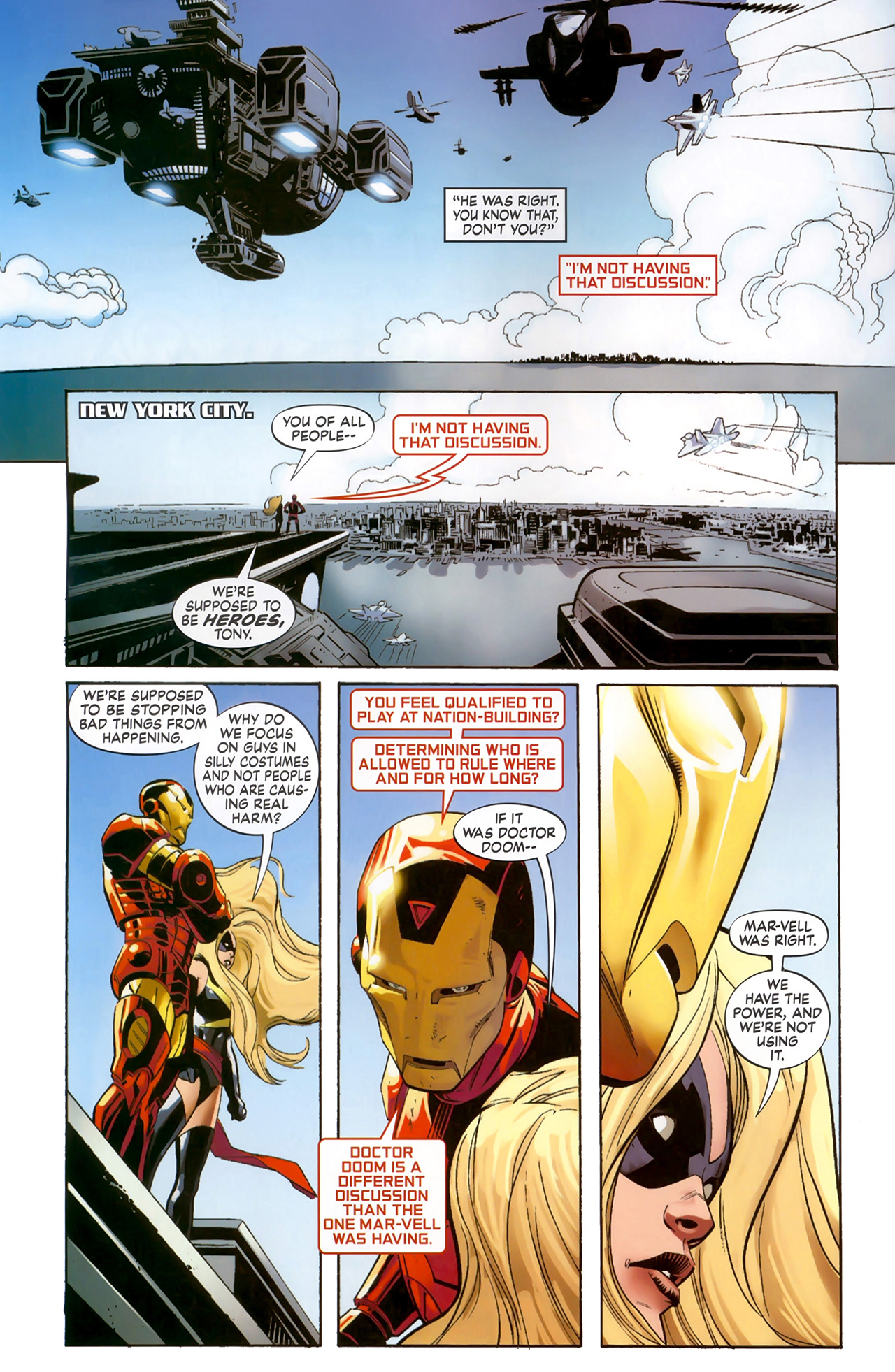 Read online Secret Invasion: The Infiltration comic -  Issue #6 - 16